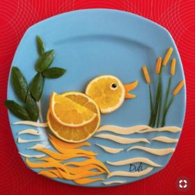 Fruta para niños