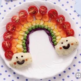Verdura para niños