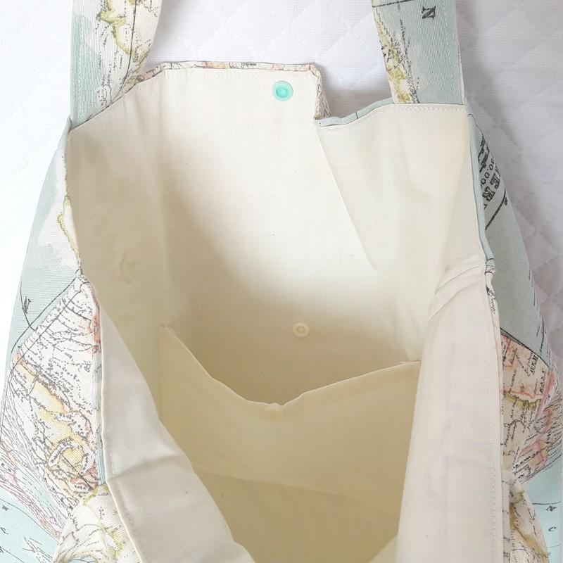 Bolsa playa mapamundi