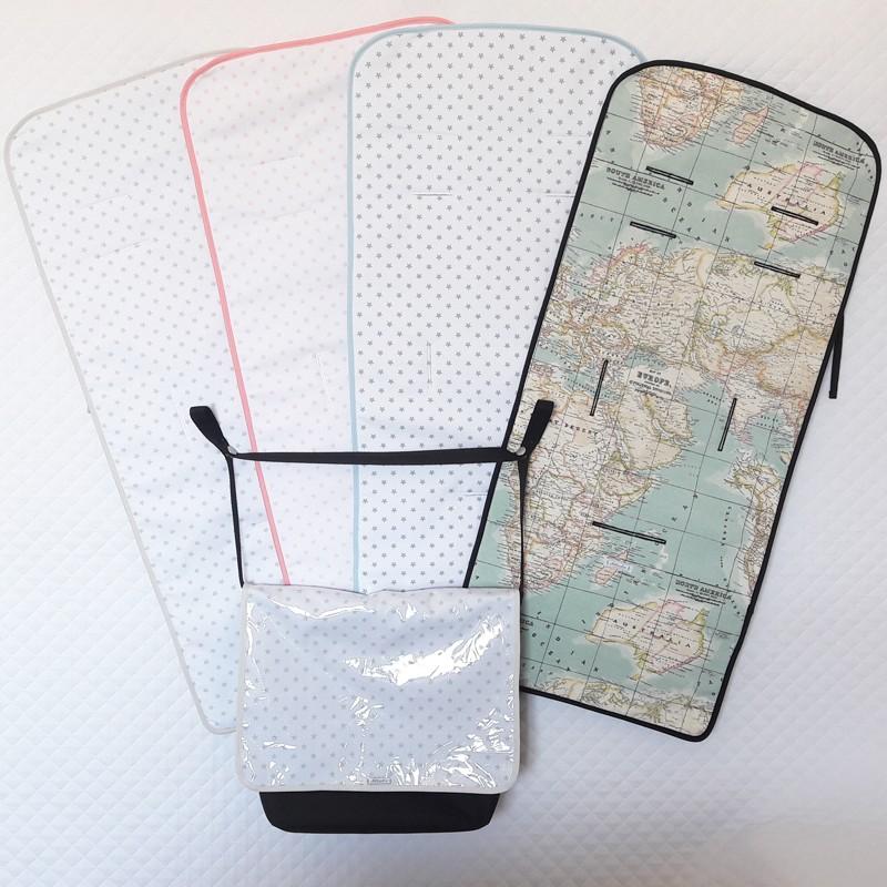 colchoneta y bolso