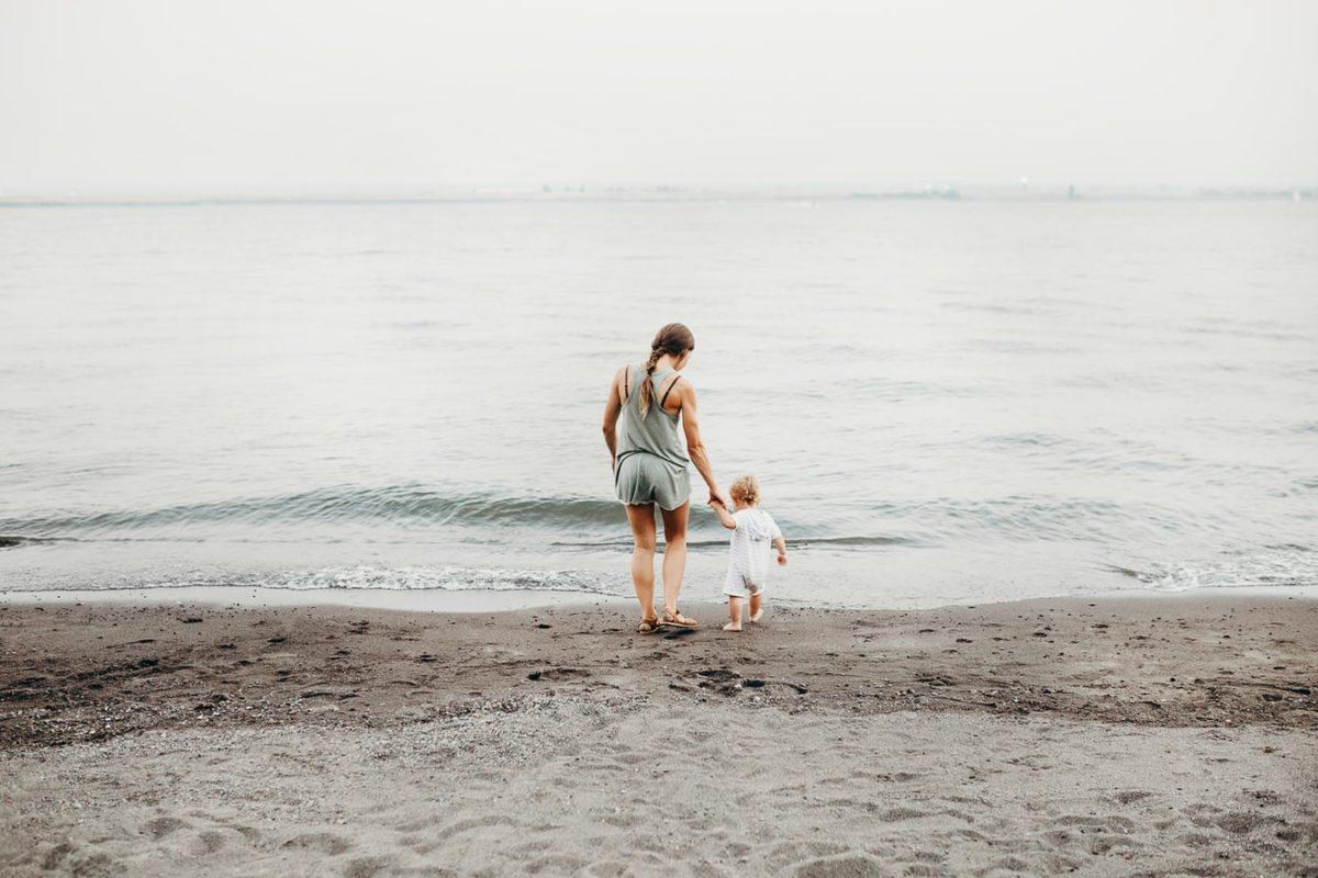 bebé playa